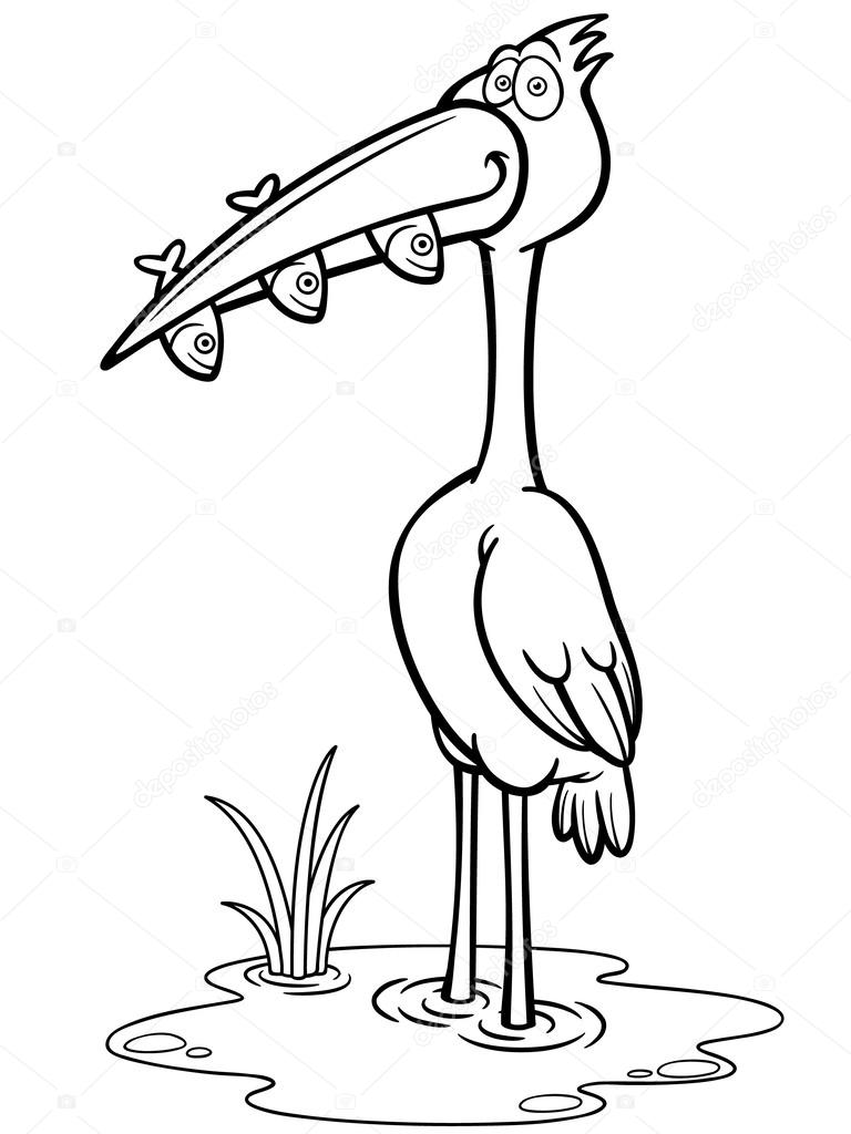 crane bird stock vectors royalty free crane bird illustrations