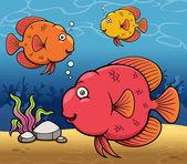 kreslená ryba