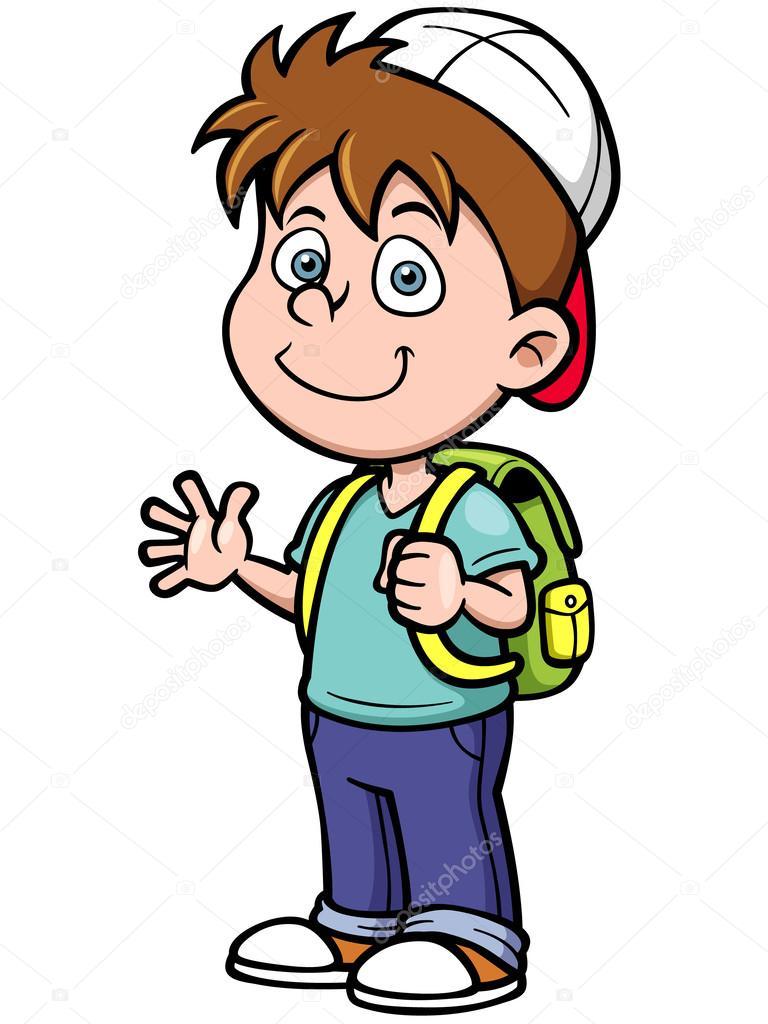 Dibujos animados de ni o archivo im genes vectoriales - Cartoon boy wallpaper ...