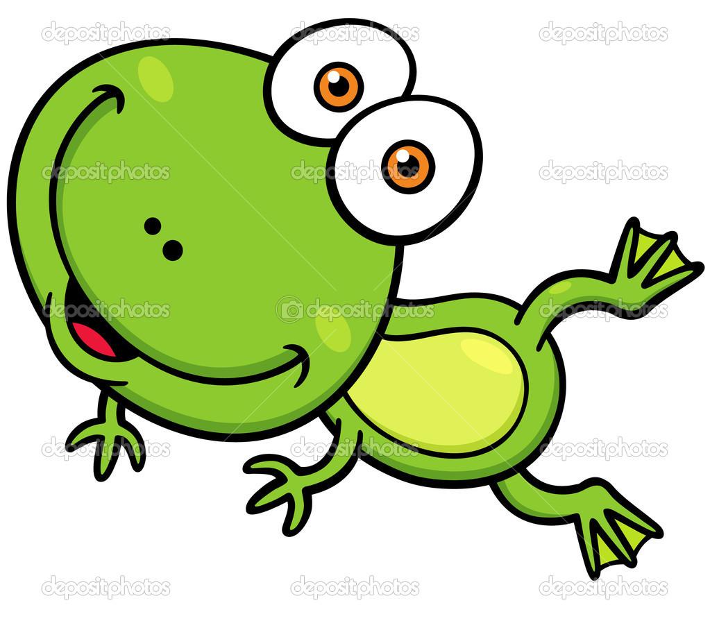 Grenouille verte de dessin anim image vectorielle sararoom 48908941 - Dessin de grenouille verte ...