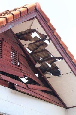 Home damaged