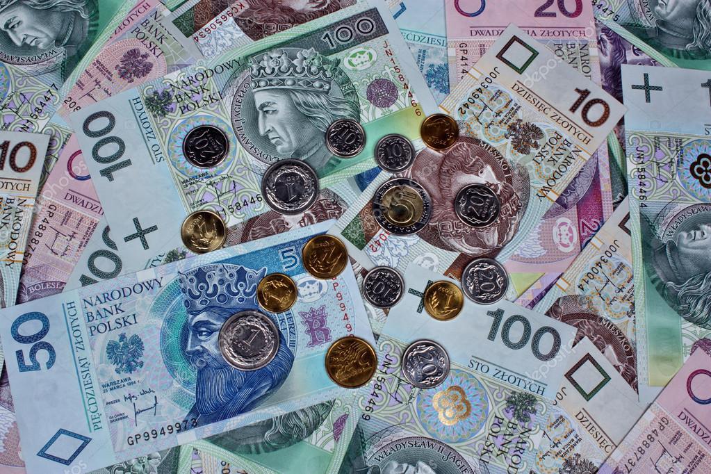 Polnisches Geld Stockfoto Adam88xxx 39899363