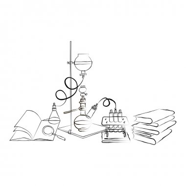 Doodle Chemical Laboratory