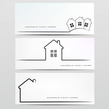 Vector house icon. stock vector