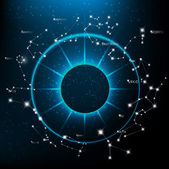 Fotografie Horoskope helle Sterne