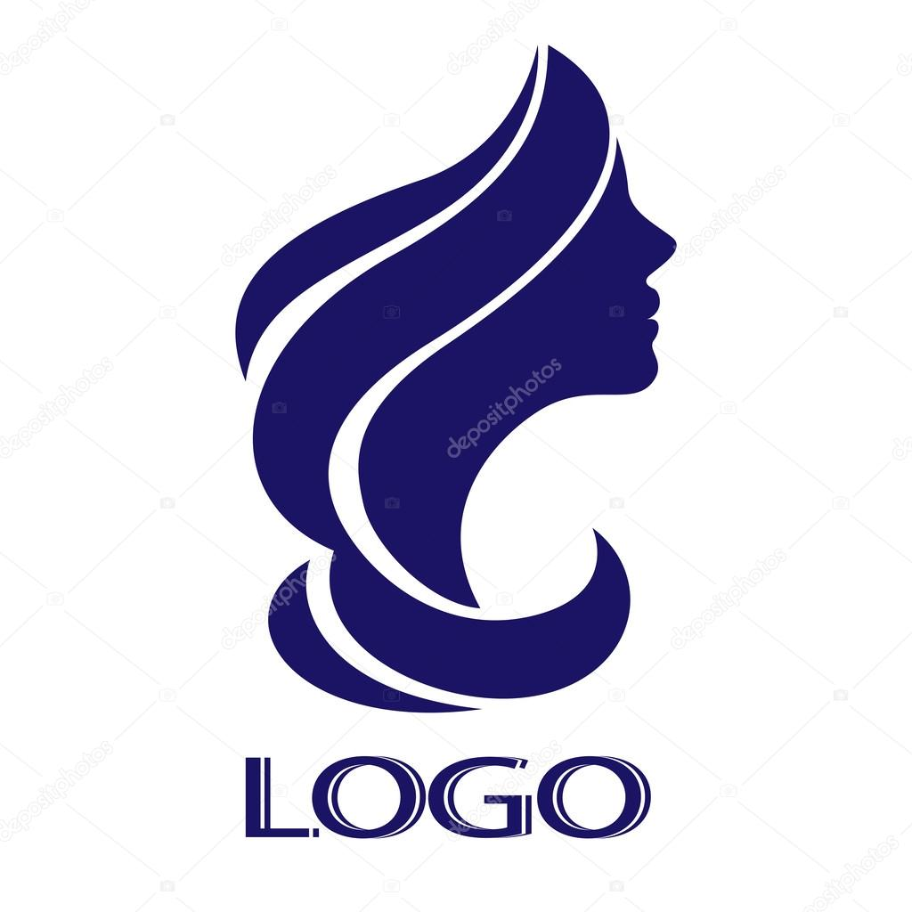 Vector girl for logo