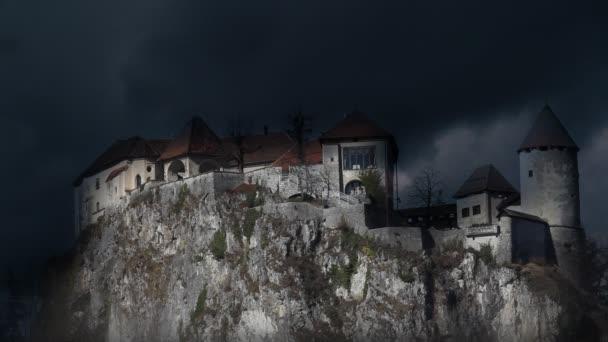 Ještě snímek Bledu se bouřlivé clounds