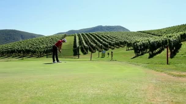 záběr Žena golfista