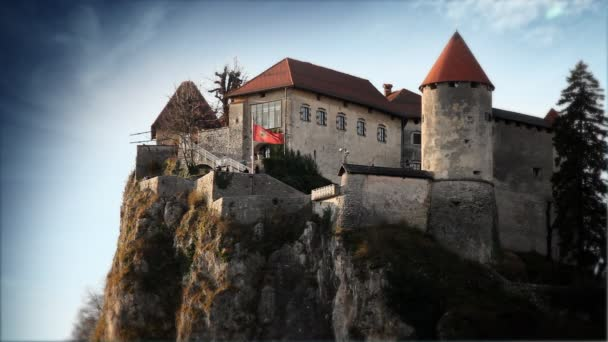 hrad ve Slovinsku