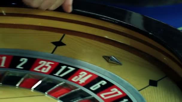 člověk hraje ruleta