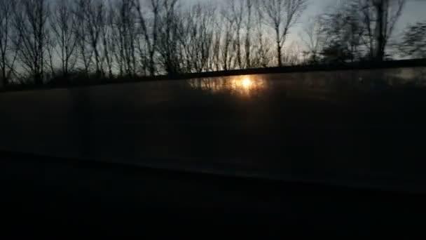 pohled z řízení auta