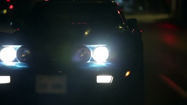 Frontal Shots Of C3 Corvette At Night