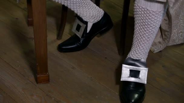 Chaussures du XIXe siècle