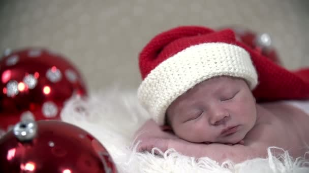 Babys sleeping in a beautiful Christmas scene