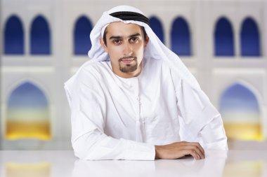 Middle Eastern businessman