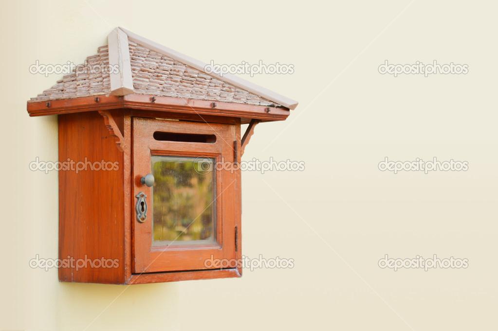 Holz Briefkasten Stockfoto Noppadol 27242435