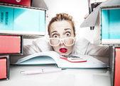 tajemník stresu práce úřadu humor