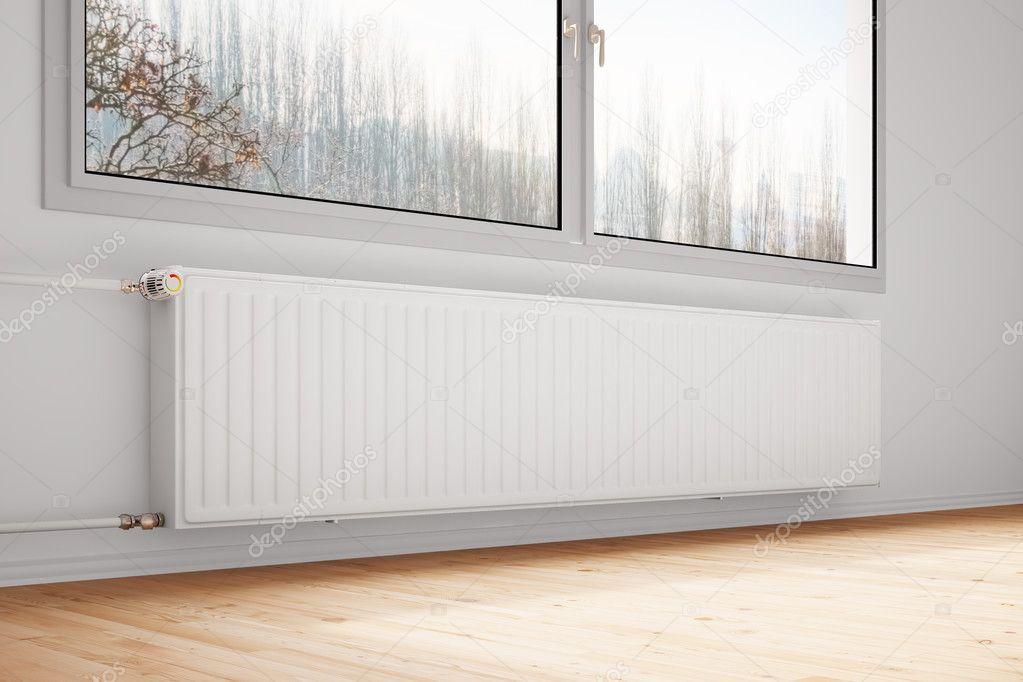 Verwarming Wordt Trendy : Aan verwarming sluit de aan en afvoer aan de radiator aan