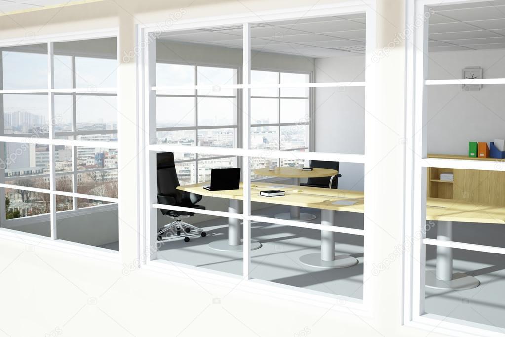 Chambre bureau urbain moderne u2014 photographie fabian19 © #38361157