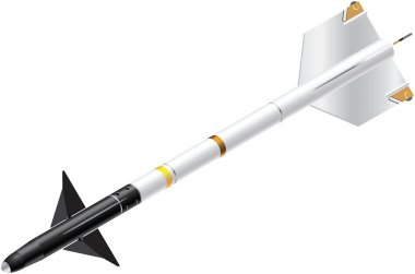 Isometric Sidewinder Missile