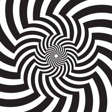 Optical Art Infinity Tunnel