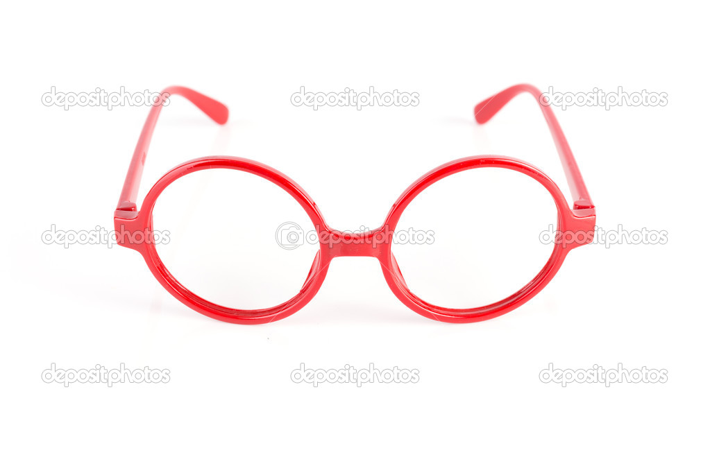 Rote Brille Rahmen — Stockfoto © tuthelens #45921395