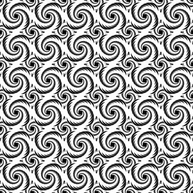 Design seamless monochrome decorative helix pattern. Whirlpool t