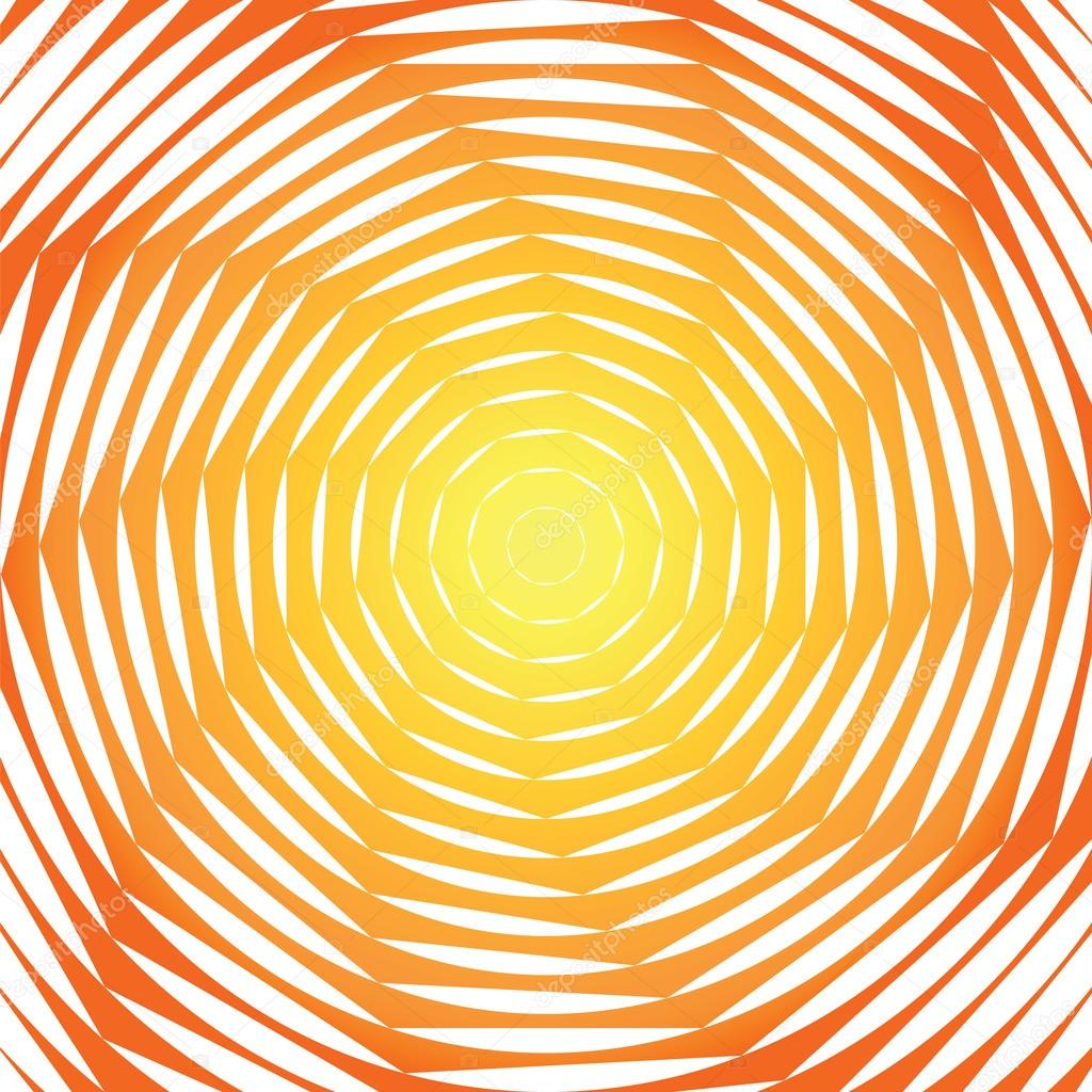 Design sunny swirl motion illusion background. Abstract strip to