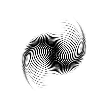 Design monochrome swirl motion background