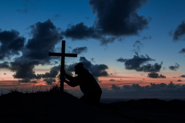 Holding On Cross