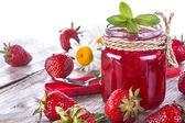 Photo Strawberry jam