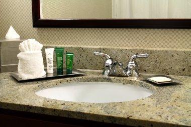 Hotel Vanity and Toiletries