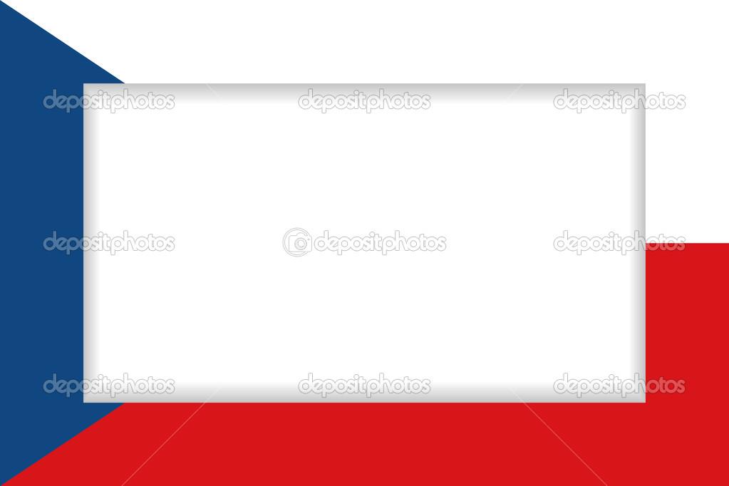 Czech Republic flag frame — Stock Vector © Ravennk #47275323