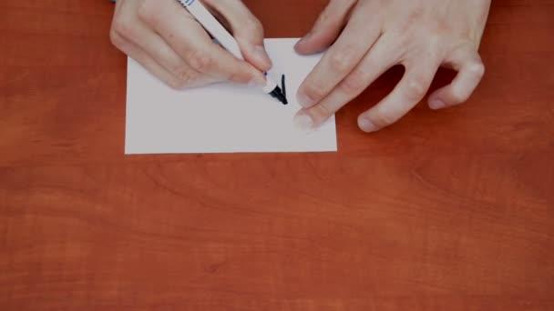 slovo zdarma na bílý list