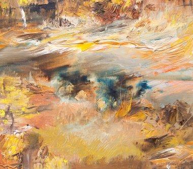 "Картина, постер, плакат, фотообои ""абстрактные детали фона картина пейзаж все"", артикул 33216559"