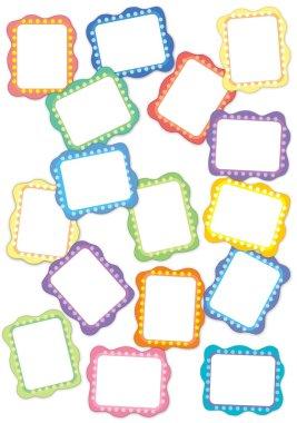Frame illustration for the children stock vector