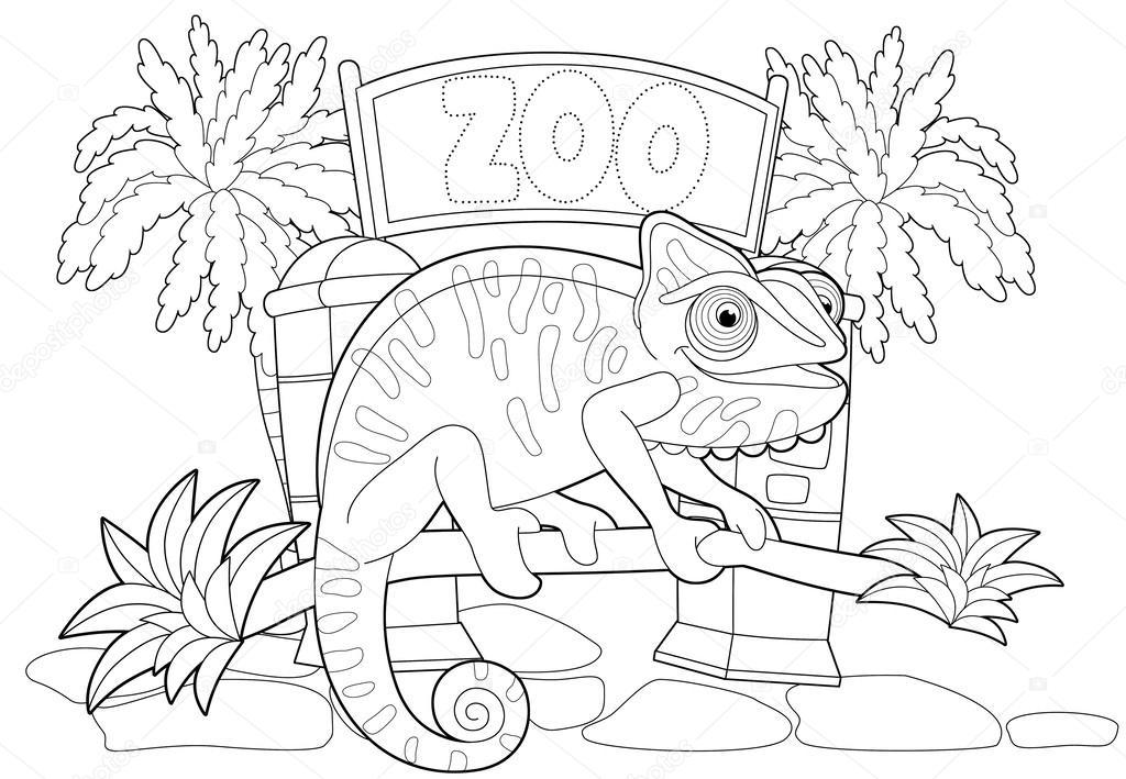 el zoológico — Foto de stock © agaes8080 #37951031