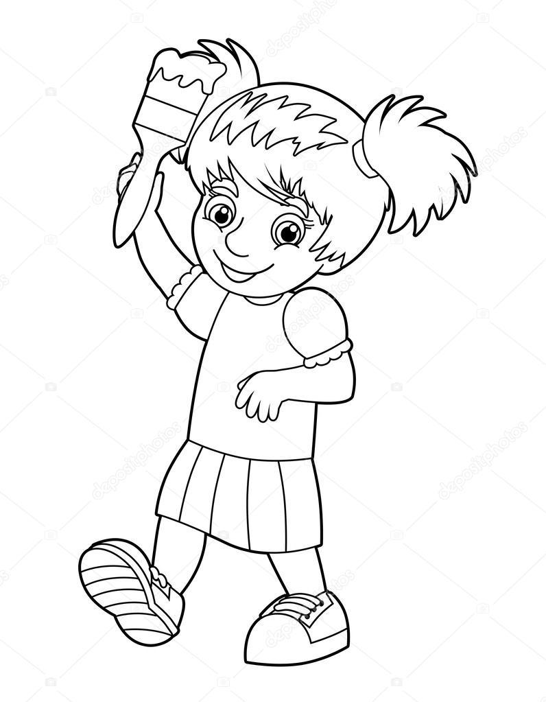 çocuk Boyama Stok Foto Agaes8080 37952867