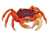 kreslený krab