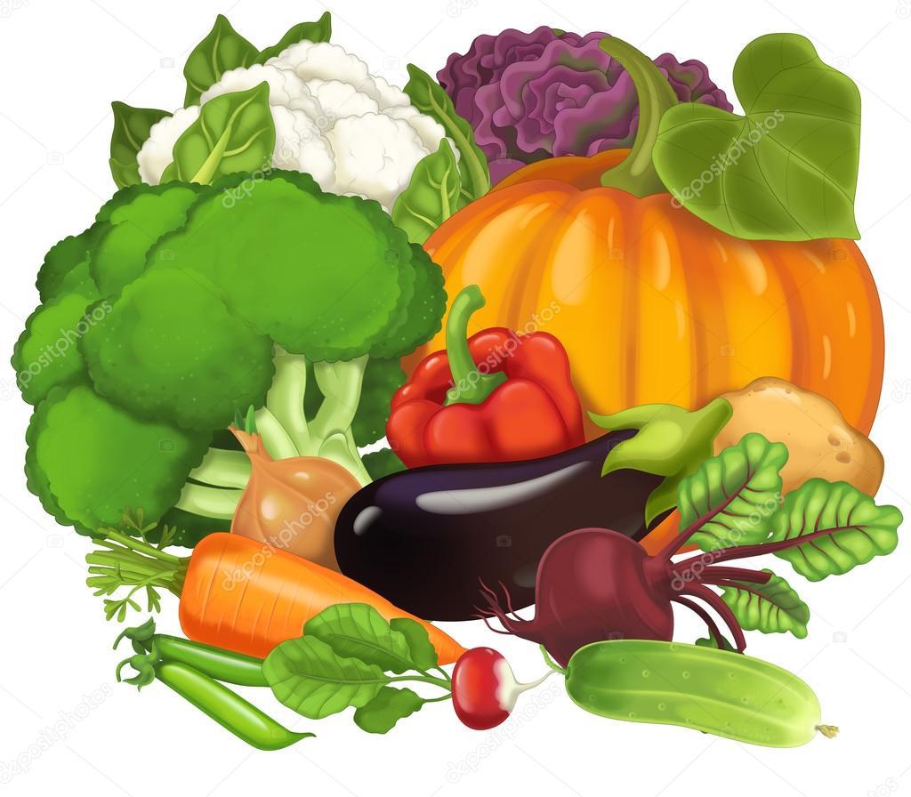 Dibujos: Verduras Y Hortalizas