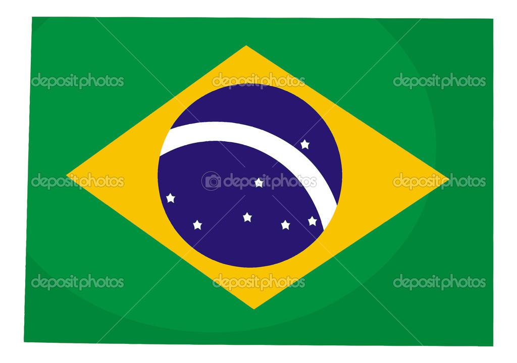 Bandera De Brasil Para Colorear: Fotos De Stock © Agaes8080 #46213951