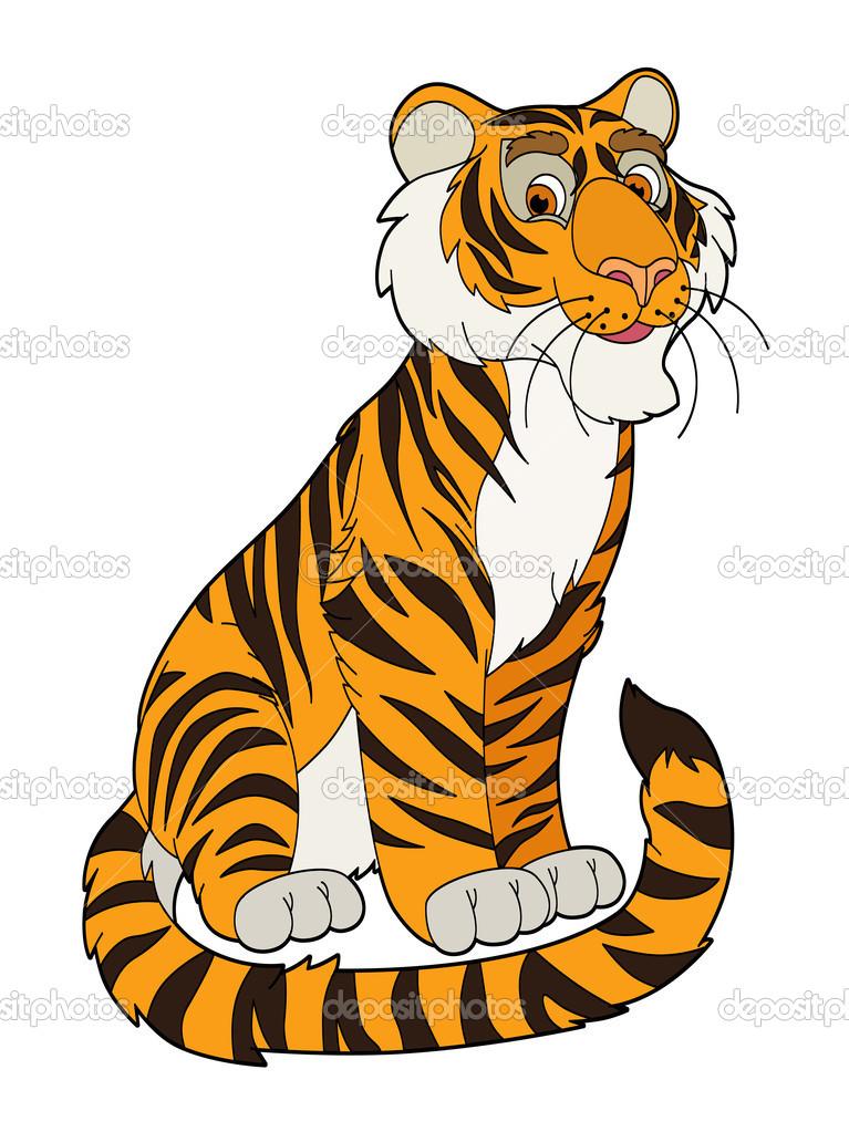desenho de tigre — Stock Photo © agaes8080 #46731737