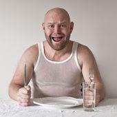 Furcsa és éhes ember
