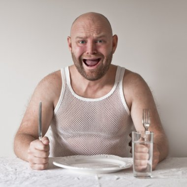 Wierd and Hungry Man