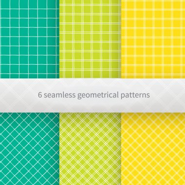 Hand drawn geometrical seamless background. Vector illustration.