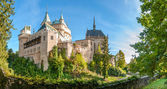 Fotografie panorama pohled na zámku bojnice