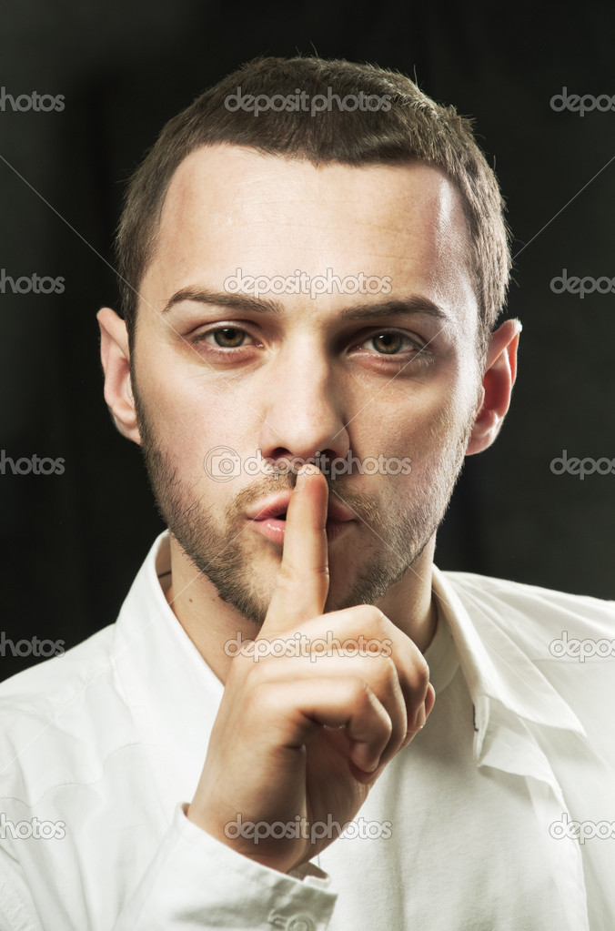 shhhhh stock photo dejan ristovski 29606925