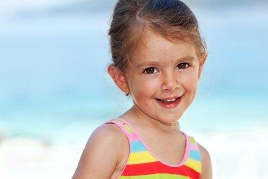 Portrait of a summer girl