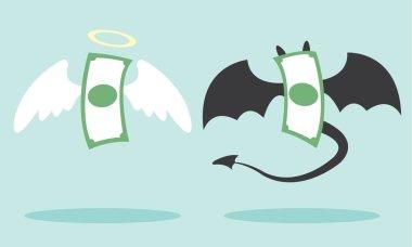 angel money and devil money