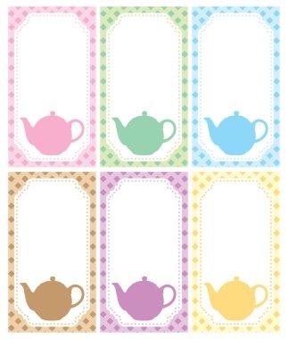 Tea label theme
